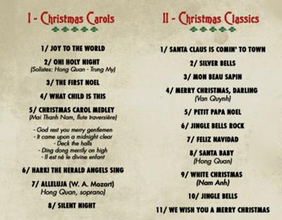 Hợp xướng Giáng Sinh 2