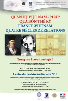 Triển lãm Quan hệ Việt-Pháp