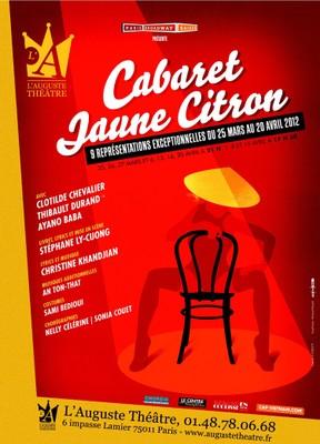 Cabaret Jaune Citron