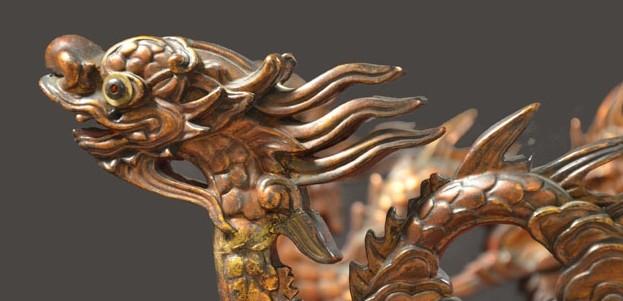 """Triển lãm """"Envol du dragon : Art royal du Vietnam"""" tại Pháp"""