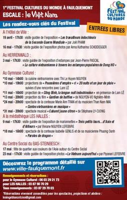 Festival Faulquemont programme