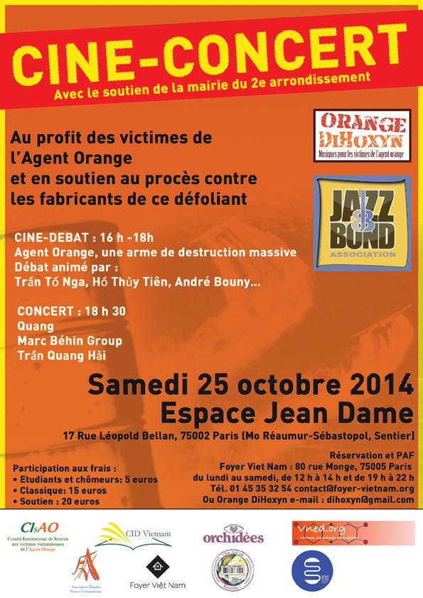 Ciné concert pour Agent Orange