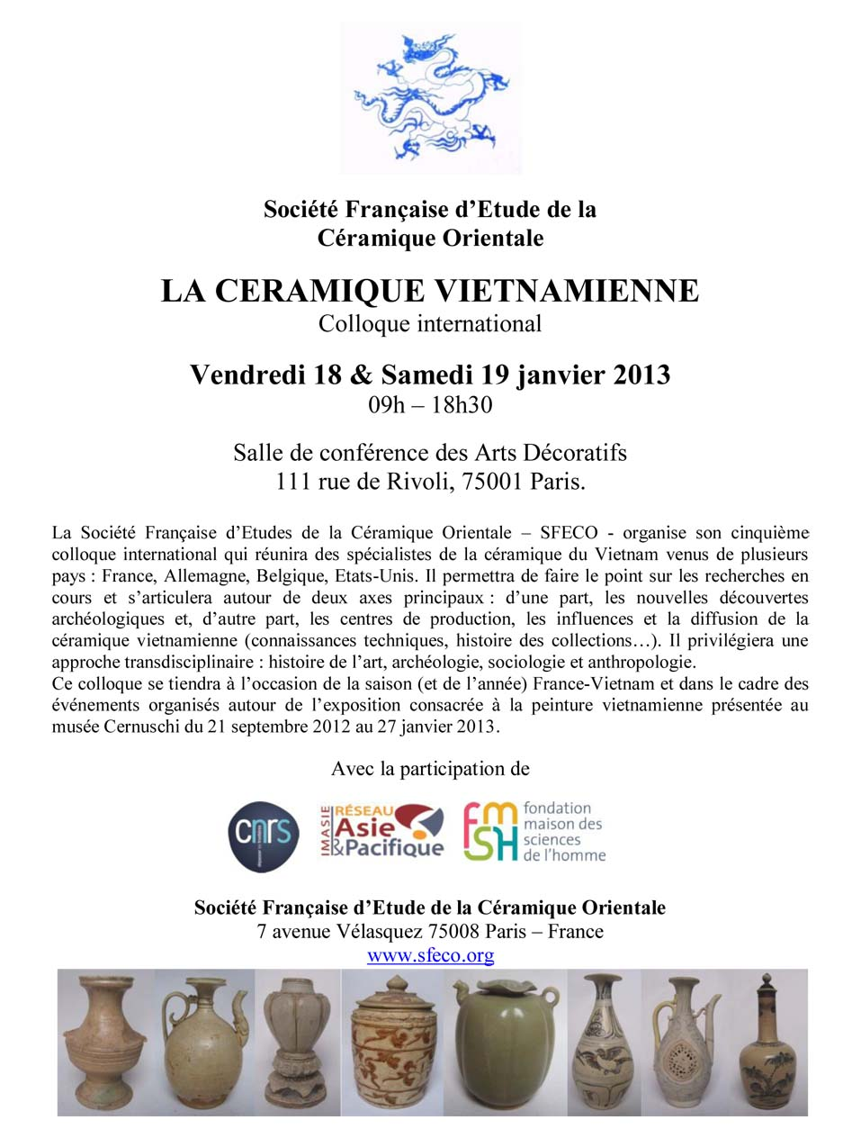 Colloque Ceramique VN