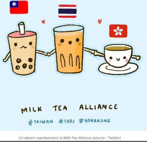 visioconférence thailande taiwan hongkong alliance