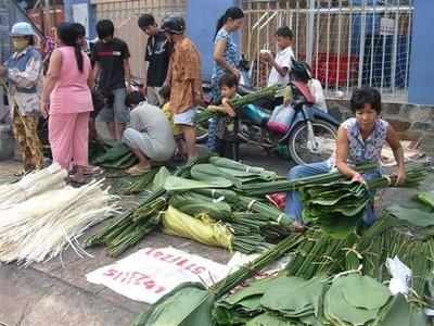 Chợ Tết ở TP HCM