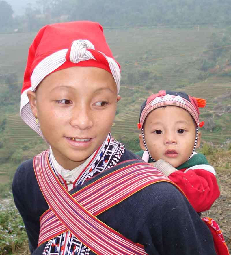 Sapa - Mẹ và con
