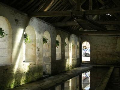 Auxerre, nơi giặt công cộng cổ