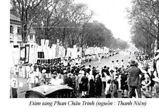 Đám tang Phan Châu Trinh, 1926