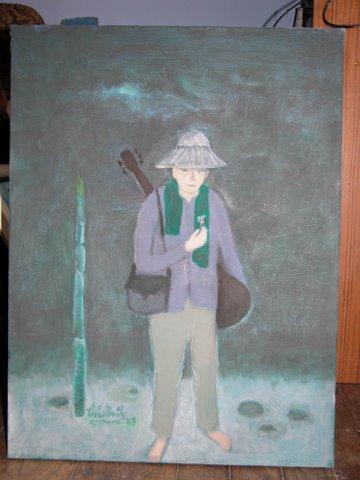 Phạm Duy, tranh Thái Tuấn