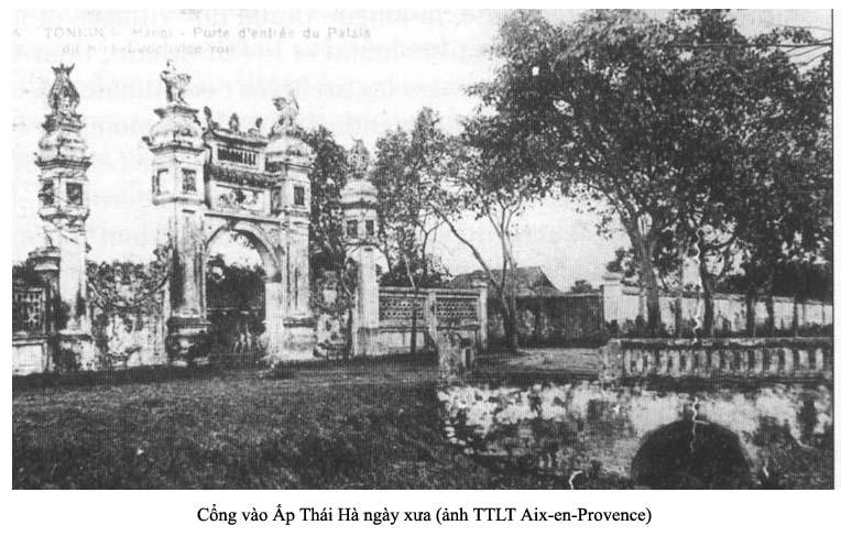 Cổng Ấp Thái Hà
